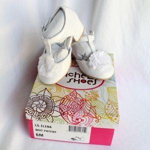 Rachel Shoes Toddler White Dress Shoes